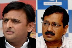 Kejriwal dials Akhilesh to discuss post-results s...