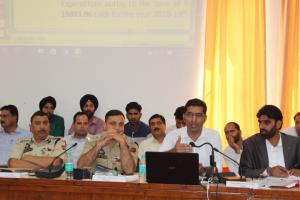 DDC Rajouri reviews progress of eco-tourism park