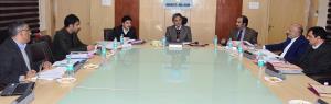 Advisor Ganai chairs BoDs meeting of SC, ST & BC ...