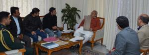 SKUAST-TAJ delegation meets Governor