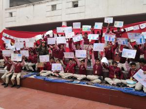 Skyview Patnitop conducts Painting Competition in...