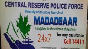 Dial 1441, CRPF tells Kashmiri youth wanting to g...