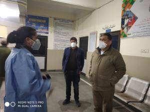 DC Kishtwar conducts late night surprise inspecti...