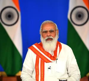 PM Modi lauds team of differently-abled people fo...