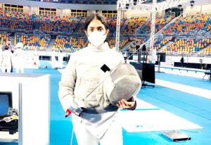 Shreya represents India in World Fencing Champion...