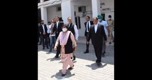 Chief Justice visits district court complex Kisht...