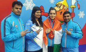 Munazah wins gold in Moscow Wushu Stars Champions...