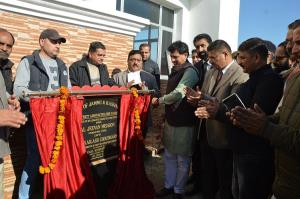 Union Minister Kailash Choudhary attends public o...