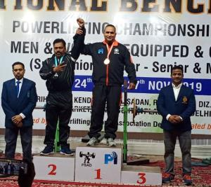 Insp Bimal Indu becomes National Champion for 2nd...