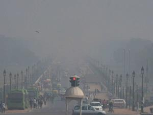 Air quality improves slightly in Delhi, SAFAR say...