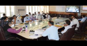Advisor Baseer Khan reviews progress of tourism p...
