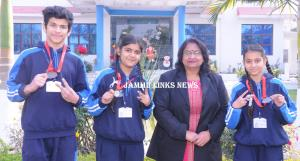 JSS Kathua students bring laurels to the school i...