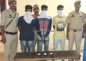 3 persons arrested with Heroin in Samba: Police