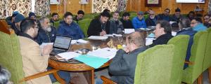 DDC Shopian reviews progress of CAPEX Budget
