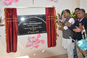 Muraleedharan e-inaugurates Rural Haat, PMGSY pro...