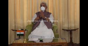 Lt Governor Sinha extends Janamashtami greetings