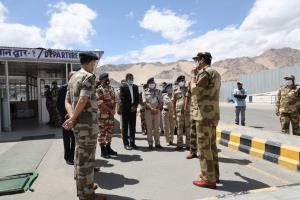 CISF takes over security of Leh airport
