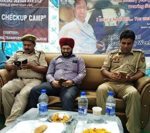 Road Safety Week continues in Rajouri