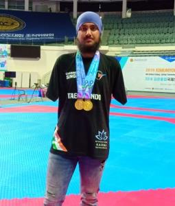 Jammu boy Chandeep wins 2 gold medals for India