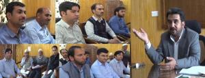 DC Shopian reviews functioning of Revenue departm...