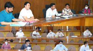 DDC Udhampur reviews preparedness for Kissan Pakh...