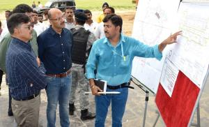Advisor Kumar inspects development works at MA St...