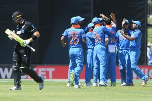 India beat New Zealand by 8 wickets in first ODI