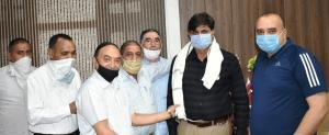 COVID-19: Shiv Mandir Committee Rajouri felicitat...