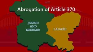 SC to decide on Monday if Article 370 pleas shoul...
