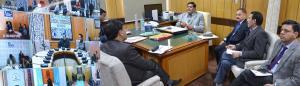 Advisor Vyas for bringing vibrancy in Revenue Dep...