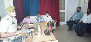 SHO Lakhanpur seeks Sarpanchs' help in COVID mana...