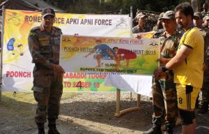 Army conducts Kabaddi Tournament in Poonch