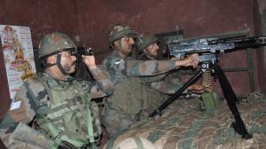 Pakistan army violates ceasefire along LoC in Raj...