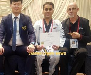 Atul Pangotra completes International Referee Ref...