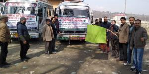 CAO Shopian flags off farmers for exposure visit