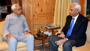 Chief of Naval staff meets Governor
