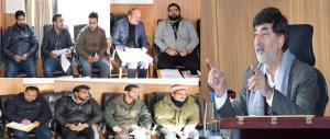 DEO Kishtwar discusses action plan to operational...