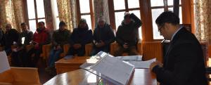 Various delegations call on DC Kargil