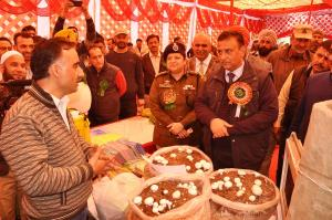 Agriculture Exhibition cum Kissan Mela held at Ra...