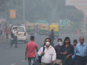 Delhi air quality in