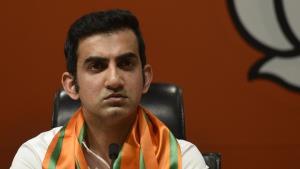 Gautam Gambhir has two voter IDs claims AAP, file...