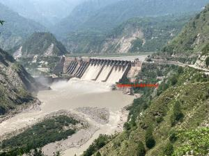 Salal Power Station sets new height