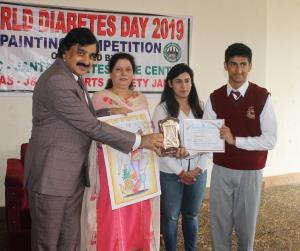 Painting competition organized on World Diabetes ...