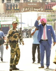 Ministers attacks Sidhu for attending Imran Khan