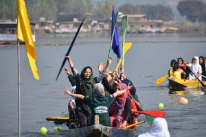 District Level Water Sports Championship commence...