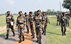 Army chief reviews operational preparedness along...