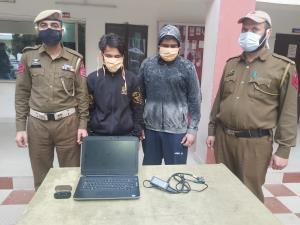 Theft case solved, two arrested by Bakshi Nagar p...