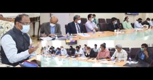 Lt Governor chairs high level meeting of Administ...