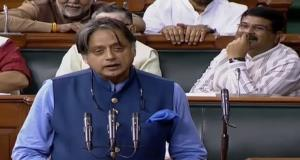 Tharoor submits notice in LS to oppose introducti...