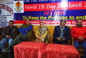 World TB Day observed at Kupwara, Pulwama